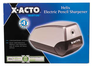X-Acto Electric Pencil Sharpener For Standard Size Pencils Gray