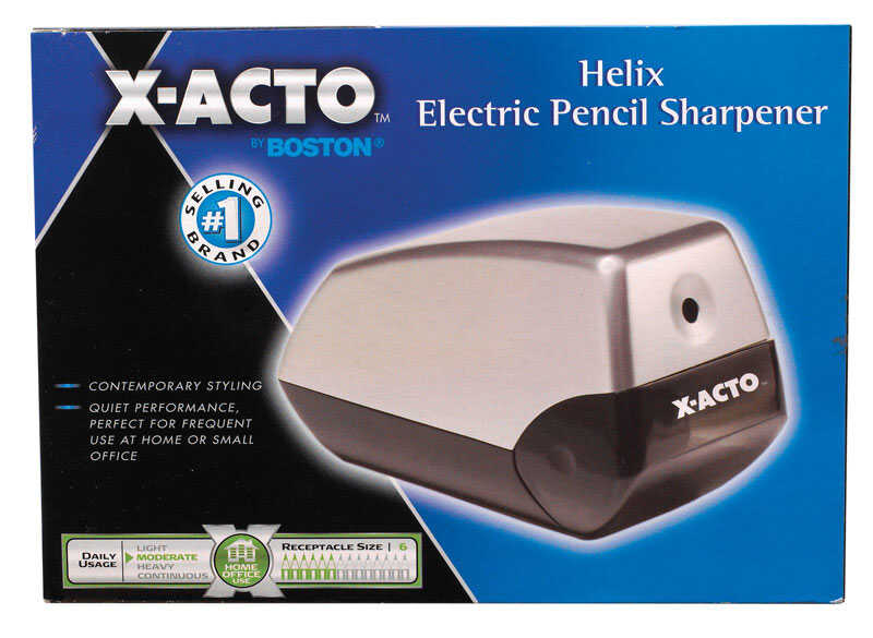X-Acto  Gray  Electric  Pencil Sharpener