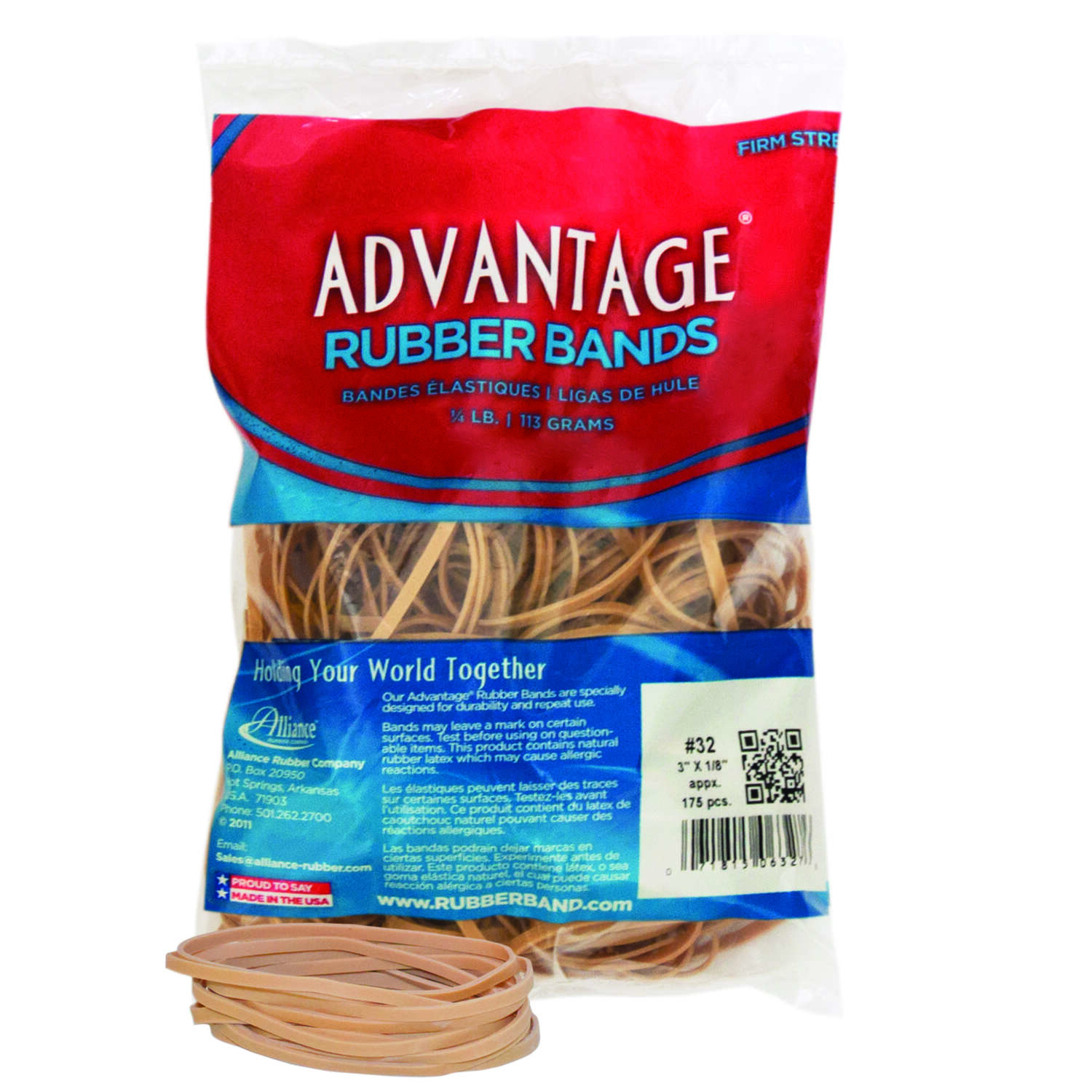 Alliance  Rubber Bands  4 oz.