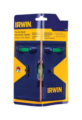 Irwin  5-1/2 in. Magnetic Post  Level  3 vial
