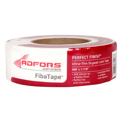 ADFORS  FibaTape Perfect Finish  300 ft. L x 2 in. W Fiberglass Mesh  White  Self Adhesive Drywall T