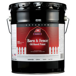 Ace Gloss Barn Red Oil-Based Barn and Fence Paint Exterior 5 gal.