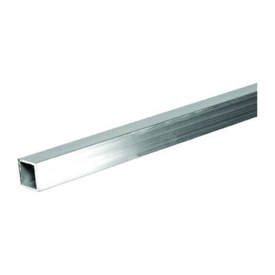 Boltmaster  1 in. Dia. x 4 ft. L Square  Aluminum Tube