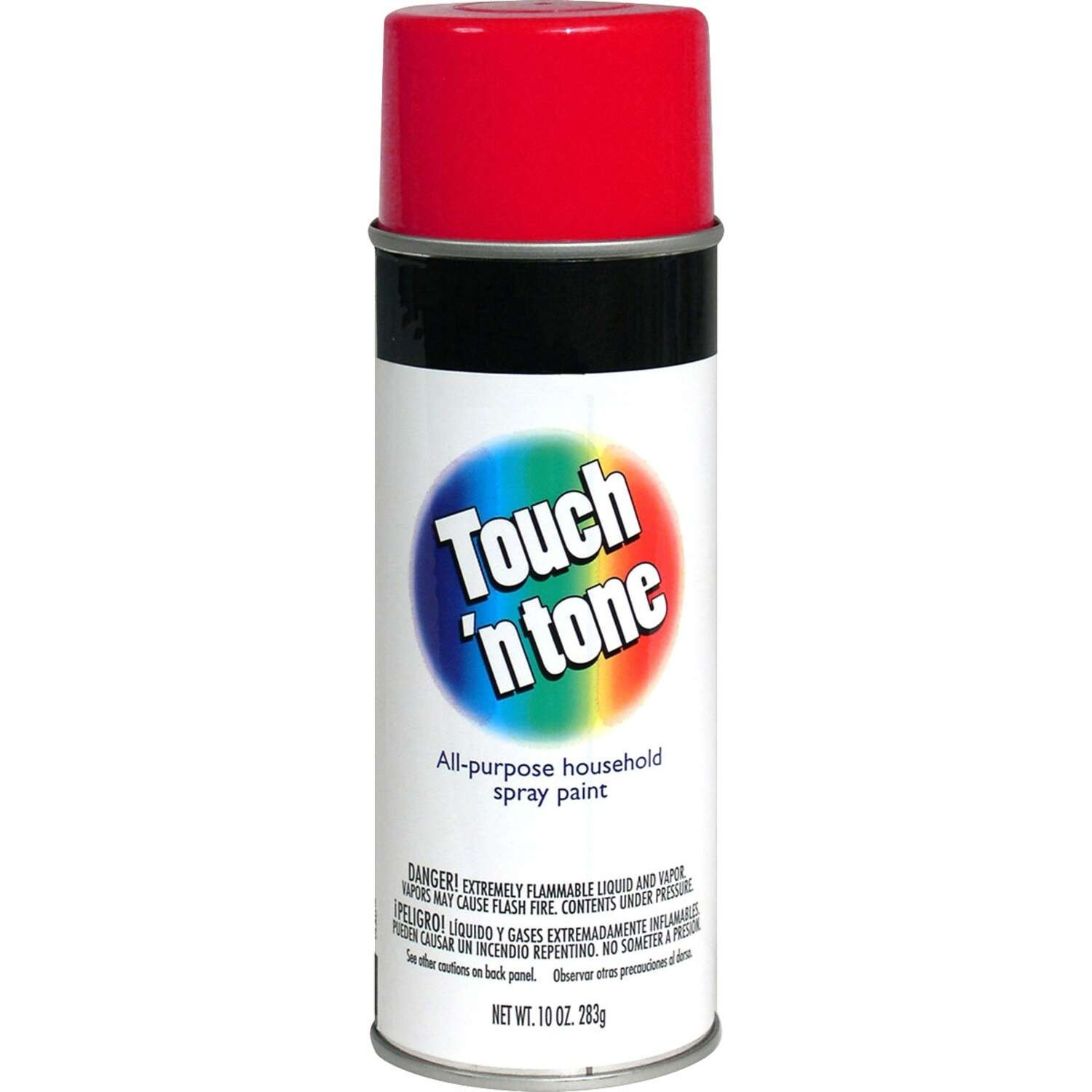 Rust-Oleum  Touch n Tone  Gloss  Cherry Red  Spray Paint  10 oz.