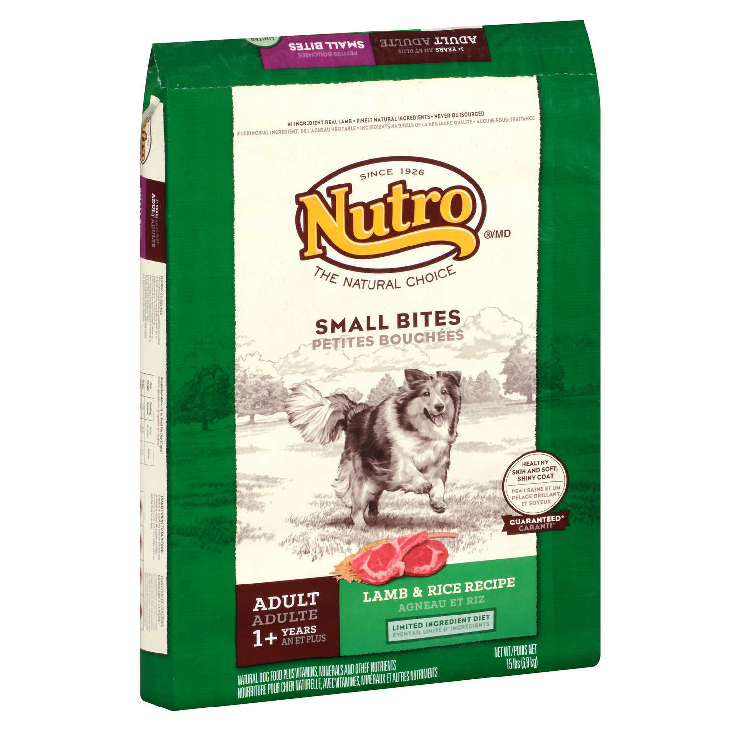 Nutro  Natural Choice  Lamb and Brown Rice  Dog  Food  15 lb.