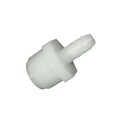 Green Leaf  Nylon  1/2 in. Dia. x 1/4 in. Dia. Adapter  1 pk