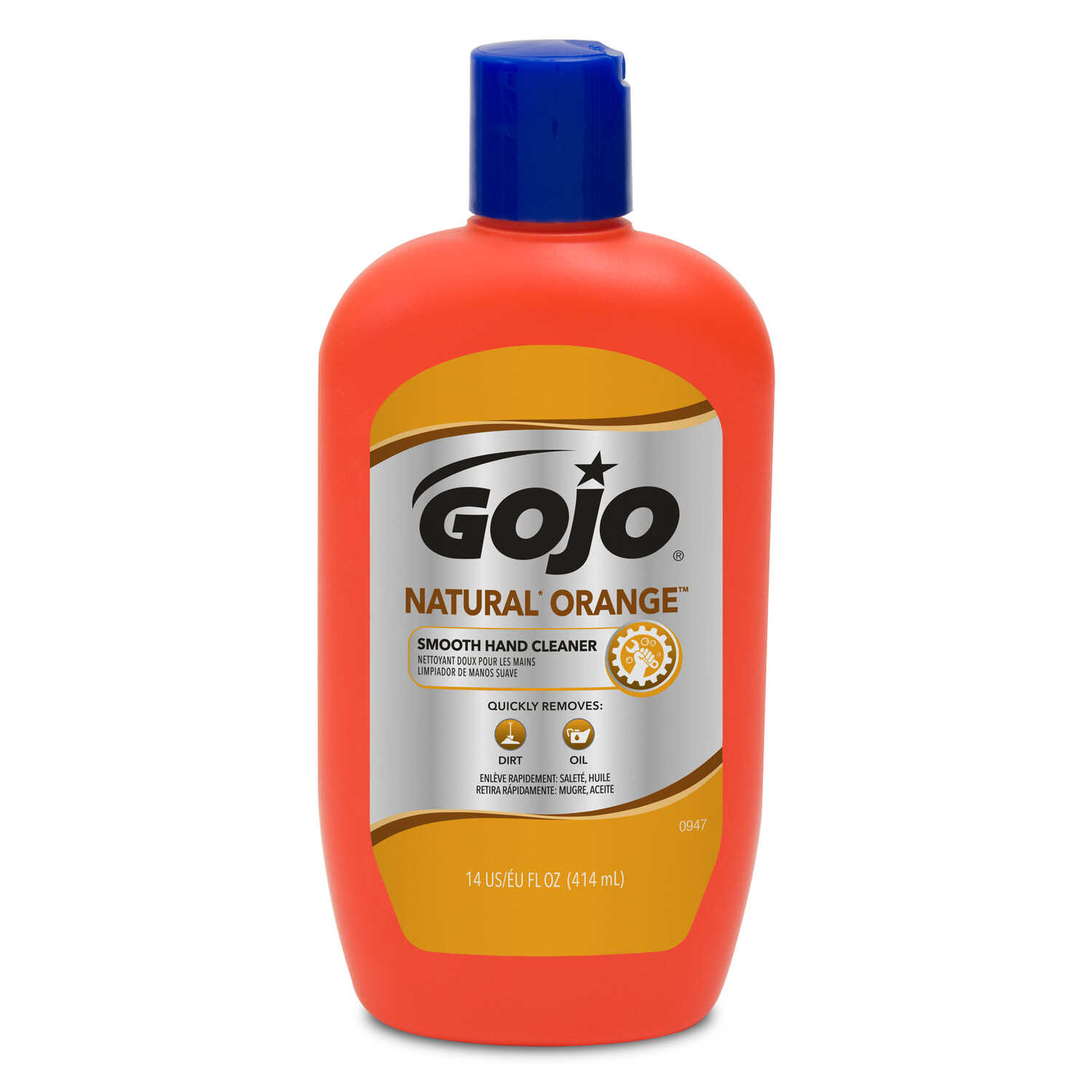 Gojo  Natural Orange Scent Hand Cleaner  14 oz.