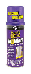 Touch 'n Foam  No Warp  White  Polyurethane  Window and Door  Foam Sealant  12 oz.