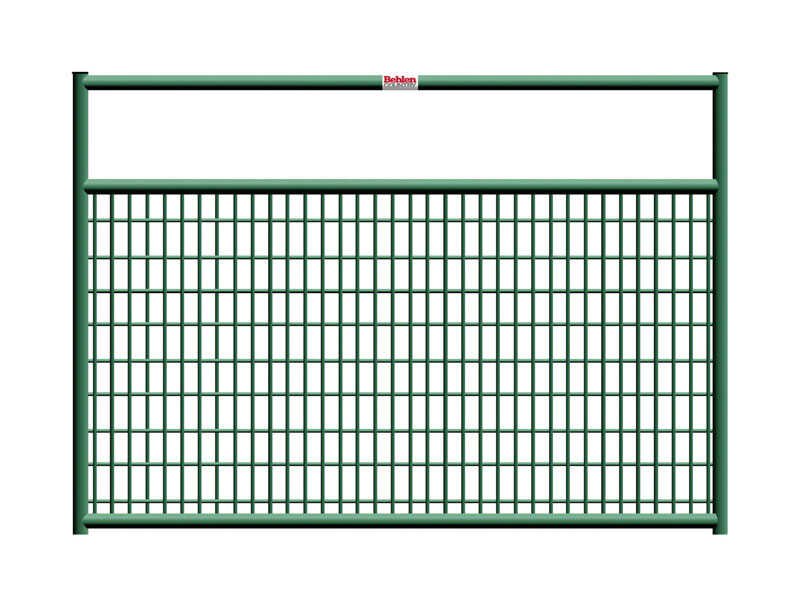 Behlen  50 in. H x 1.67 in. W Steel  Tube Gate