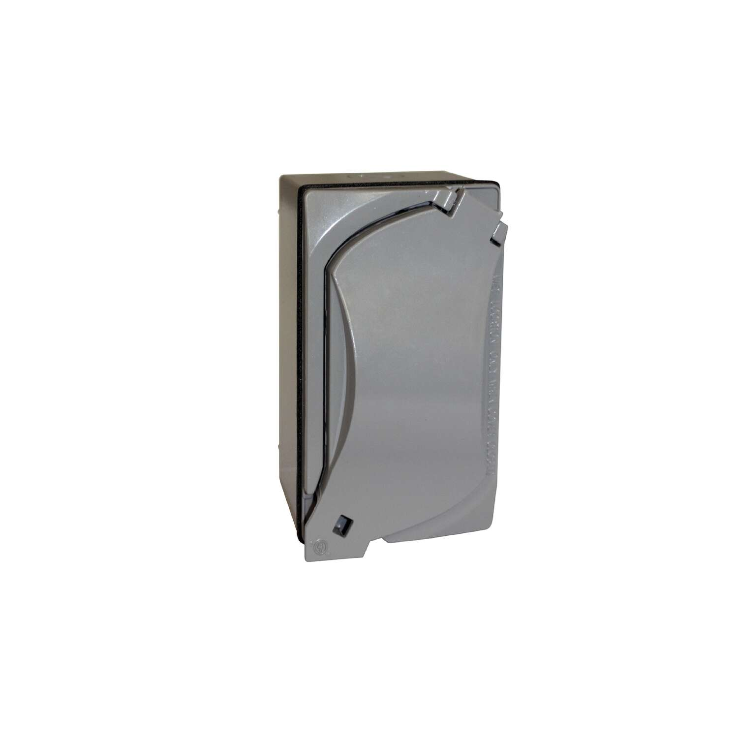 Sigma Electric Rectangle Metal 1 gang GFCI Outlet Kit For Wet Locations