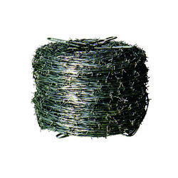 Sierra  1320 ft. L 13 Ga. 2-point  Galvanized Steel  Barbed Wire