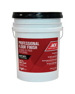 Ace  Professional  High Gloss  Floor Finish  Liquid  5 gal.