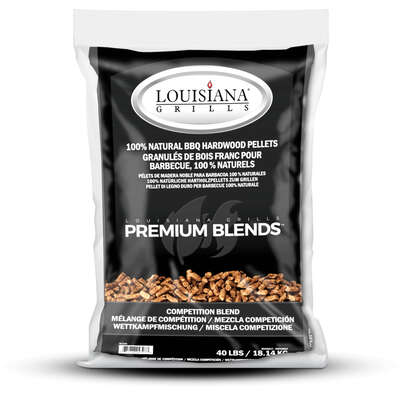 Lousiana Grill All Natural Competition Blend Wood Pellets 40 lb.
