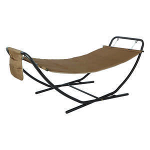 Living Accents  93.7  L x 36.8 in. W Hammock and Stand  With Stand