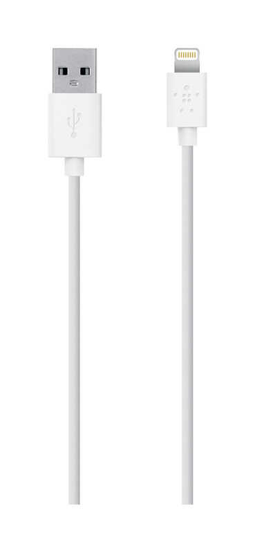Belkin  MIXIT UP  4 ft. L x 4 ft. L Cell Phone Accessories  Iphone 6, 6 Plus, 5, 5s  For Apple White