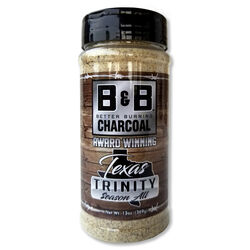 B&B Charcoal Texas Trinity Seasoning Rub 13 oz.