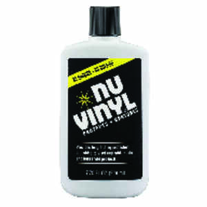Nu-Vinyl  Leather/Rubber/Vinyl  Protectant  7.75 oz. Bottle  1 pk