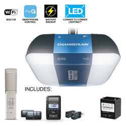 Chamberlain  MyQ  1-1/4 hp Belt Drive  WiFi Compatible Garage Door Opener