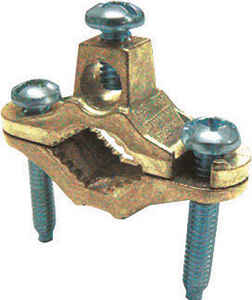 Sigma Electric ProConnex  1 1/4 in. Bronze  Ground Clamp  1 pk