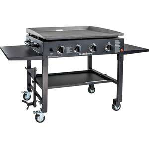 Blackstone  36 in. 4 Burner  4 burners Propane  Black  Grill  60000 BTU