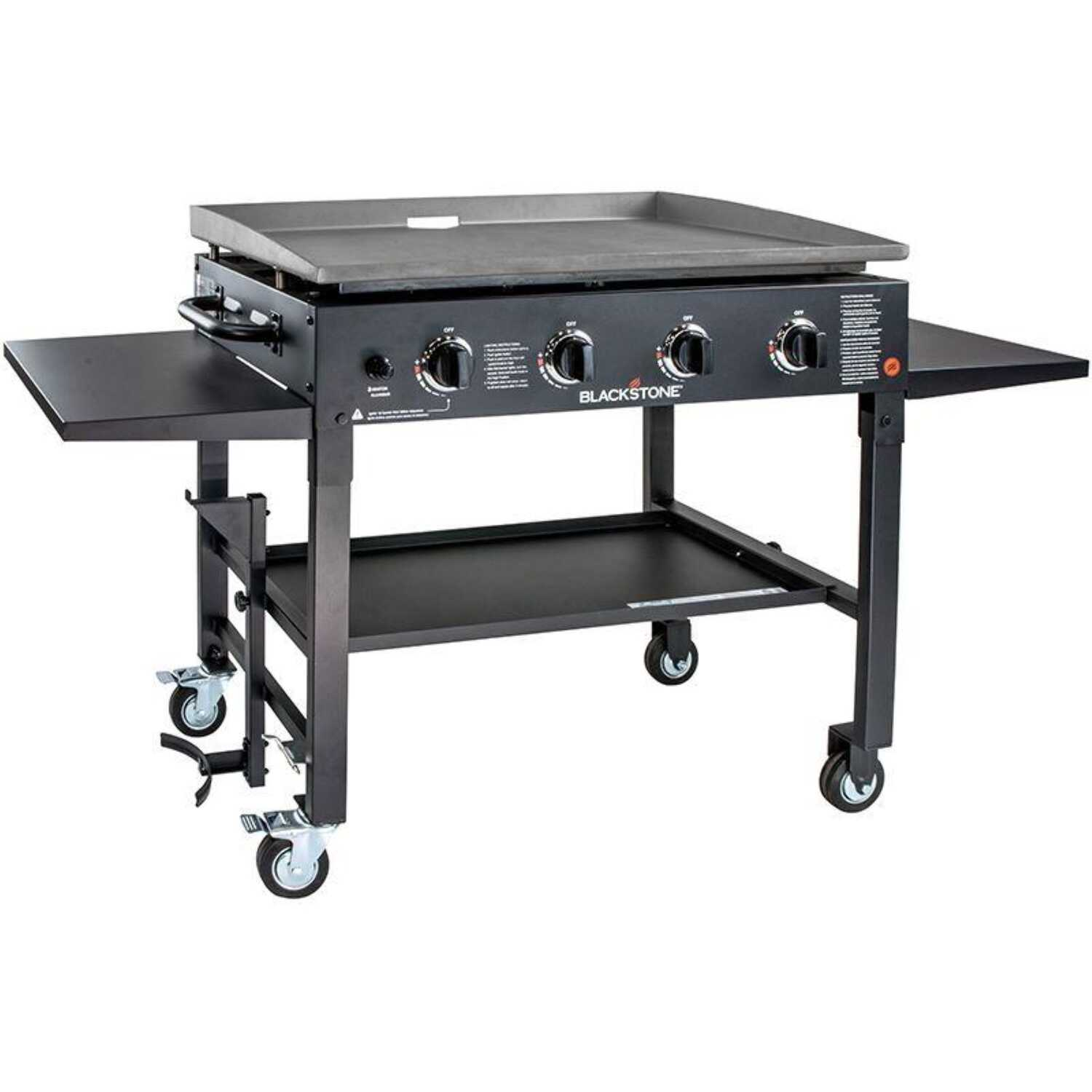 Blackstone  36 in.  4 burners Propane  Grill  Black  60000 BTU