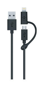 Belkin  Black  Cell Phone Accessories  For Universal 3 ft. L
