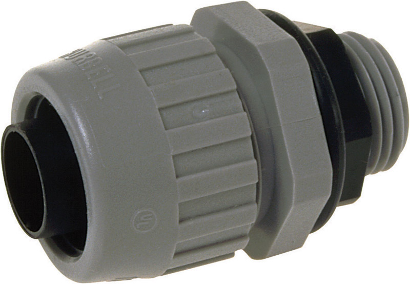 Raco  1/2 in. Dia. Nylon  Electrical Conduit Connector  For Type B 20 each