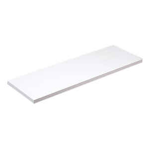 Knape & Vogt  8 in. H x 8 in. W x 36 in. D White  Melatex Laminate/Particle Board  Shelf