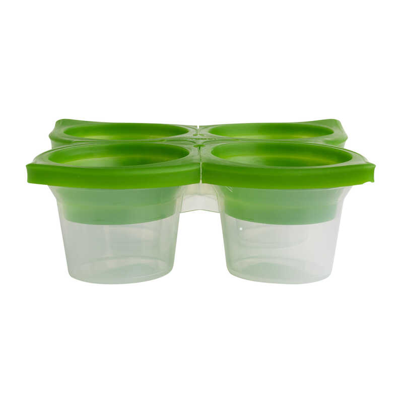 Chef'n  SpiceCube  5-1/2 in. W x 5-1/2 in. L Green  Herb Freezer Tray