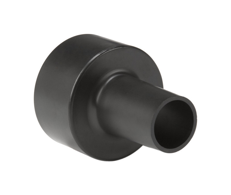 Shop-Vac  6.25  L x 4.25 in. W x 1.25in. to 2.5 in. Dia. Wet/Dry Vac Hose Adapter  Black  1 pc.