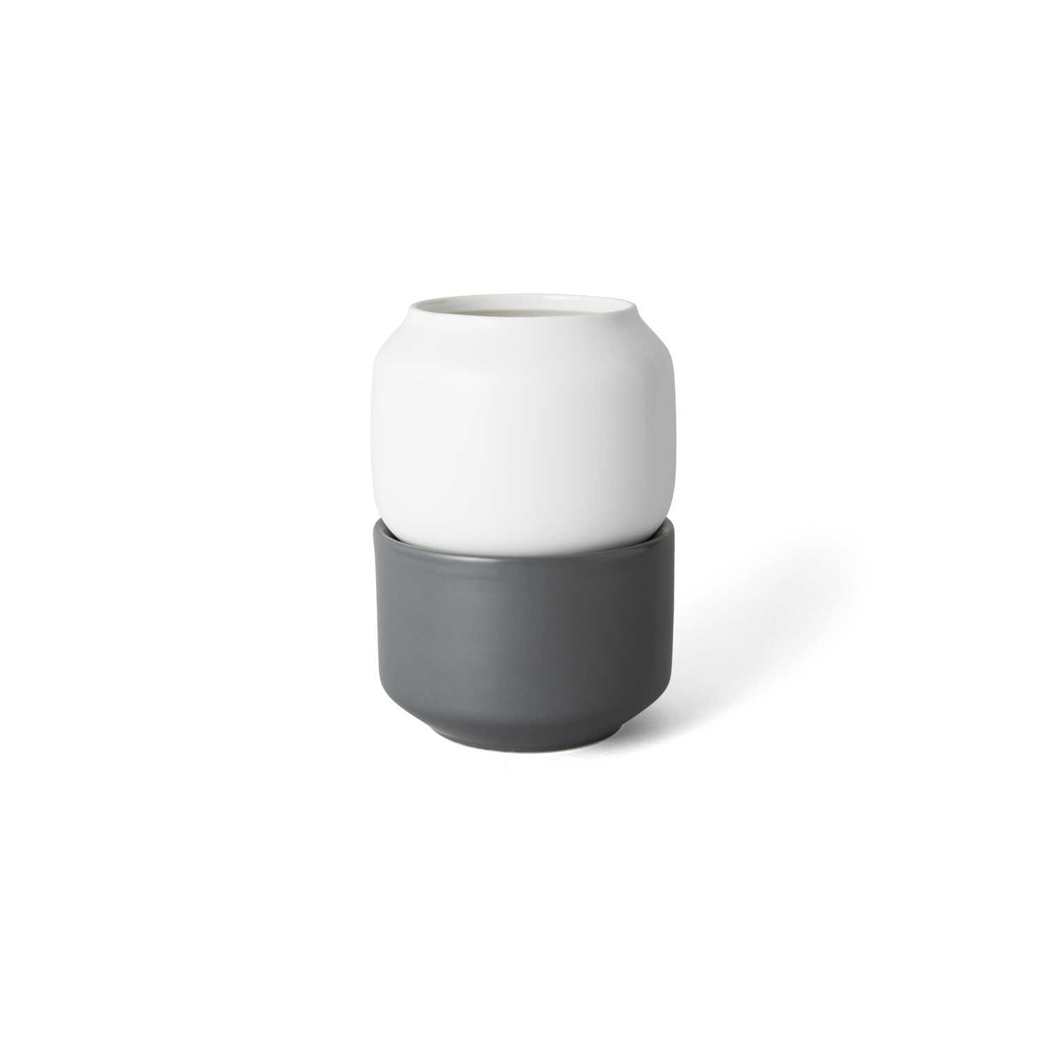 Chef'n  HerbFresh  White  Small Herb Pot