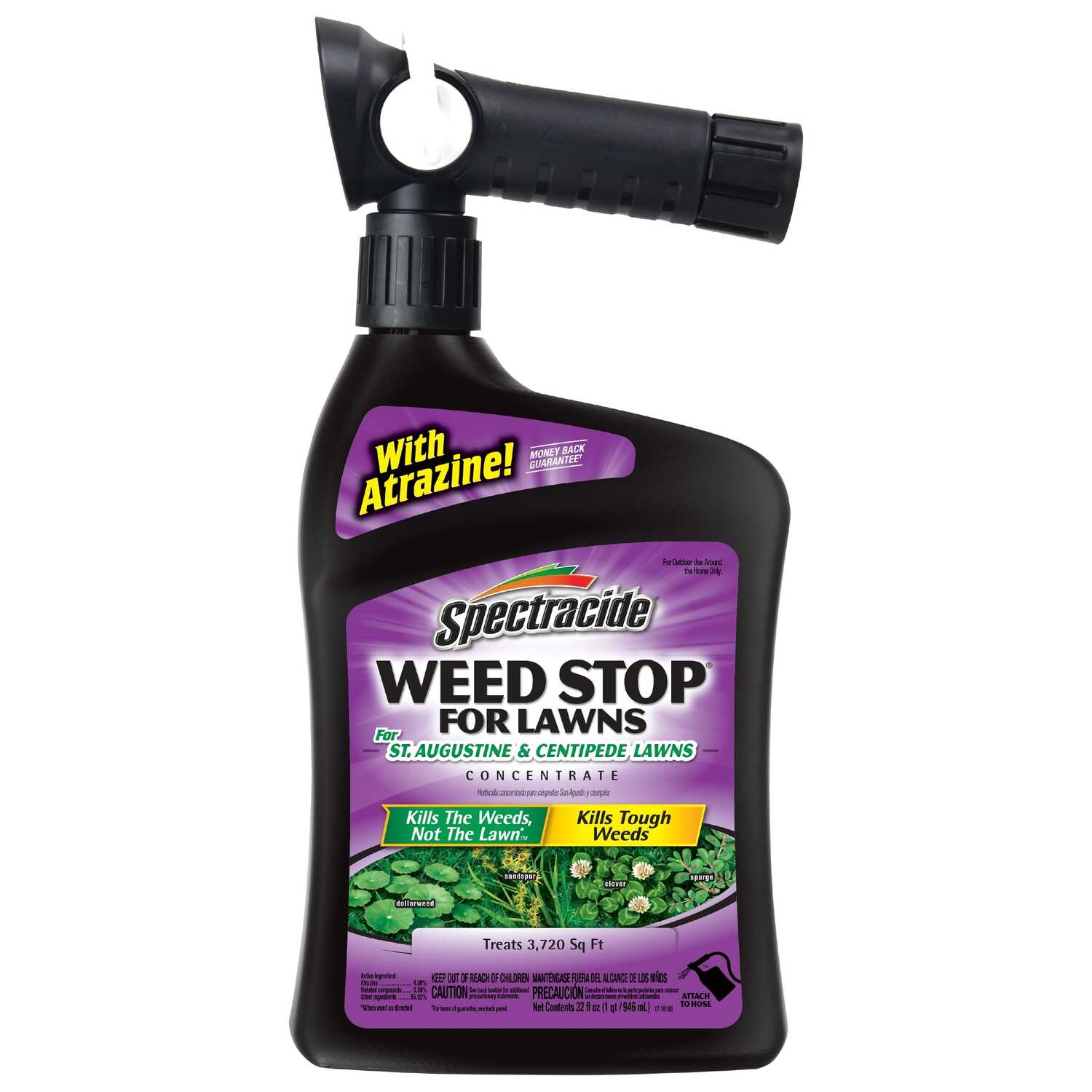 Spectracide  Weed Stop  RTS Hose-End Concentrate  Weed Killer  32 oz.