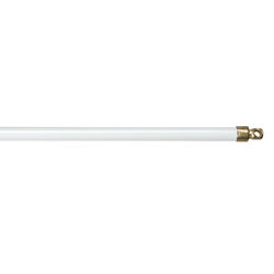 Kenney White Sash Rod 11 in. L x 19 in. L