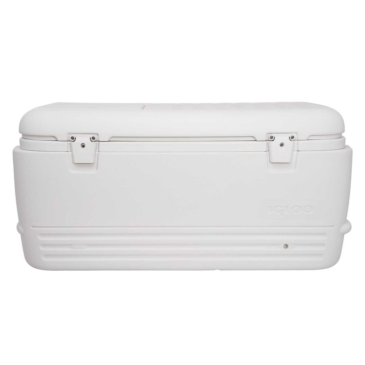 Igloo Quick Amp Cool Cooler 100 Qt White Ace Hardware