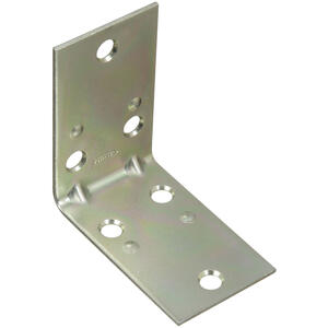 National Hardware  2-1/2 in. H x 1-1/2 in. W x 0.07 in. D Zinc-Plated  Steel  Inside  Corner Brace