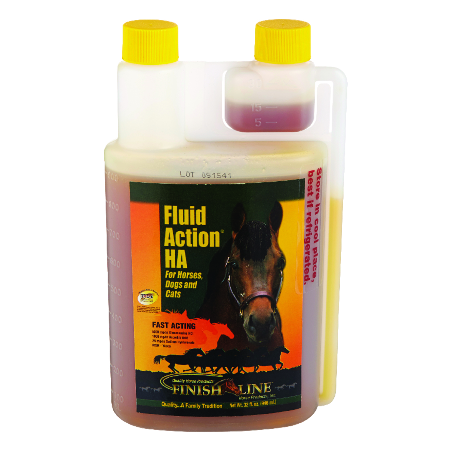 Fluid Action  Liquid  Joint Care  For Horse 32 oz.
