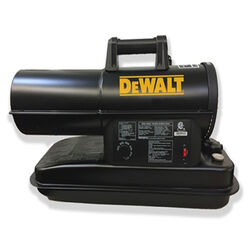 DeWalt 75,000 BTU/hr. 1750 sq. ft. Forced Air Kerosene Heater