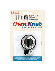 Lux  Chrome  Oven Knob