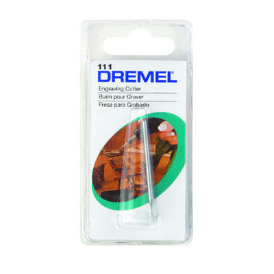 Dremel  5/16 in.  x 1-1/2 in. L x 1/8 in. Dia. High Speed Steel  Engraving Cutter  1 pk