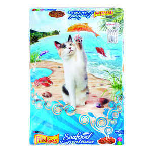 Purina  Friskies  Seafood Sensations  Dry  Cat  Food  16 lb.