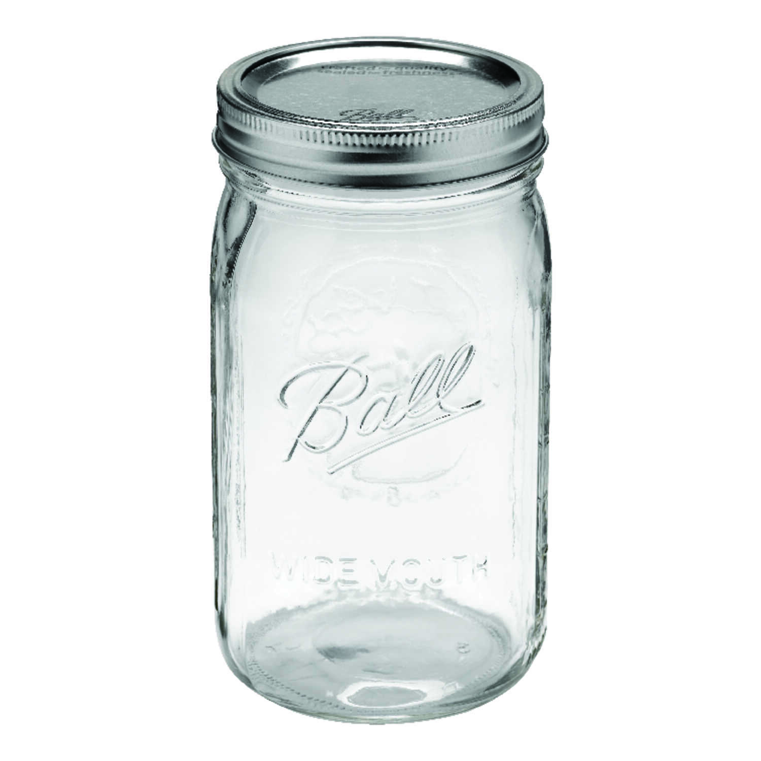 Ball  Wide Mouth  Canning Jar  1 qt. 12 pk