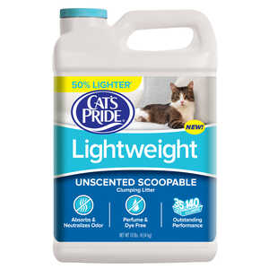 Cat's Pride  No Scent 10 lb. Scoopable Cat Litter