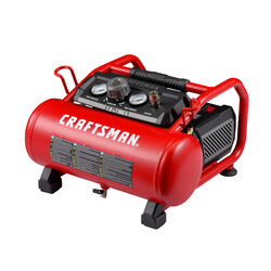 Craftsman  3 gal. Horizontal  Portable Air Compressor  155 psi 1.5 hp
