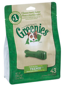 Greenies  Mint  Dental Stick  For Dog 12 oz. 9.63 in. 1 pk