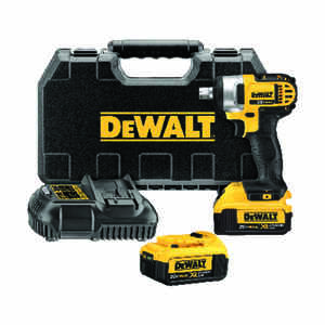 DeWalt  MAX  1/2 in. Square  Cordless  Impact Wrench  Kit 20 volts 2700 ipm 1824 in-lb