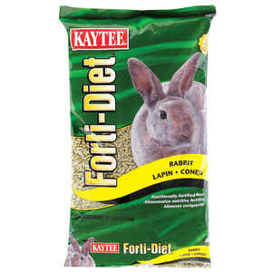 Kaytee  Forti-Diet  Natural  Pellets  Rabbit  Food  10 lb.