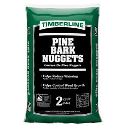 Timberline Natural Pine Bark Nuggets 2 cu. ft.