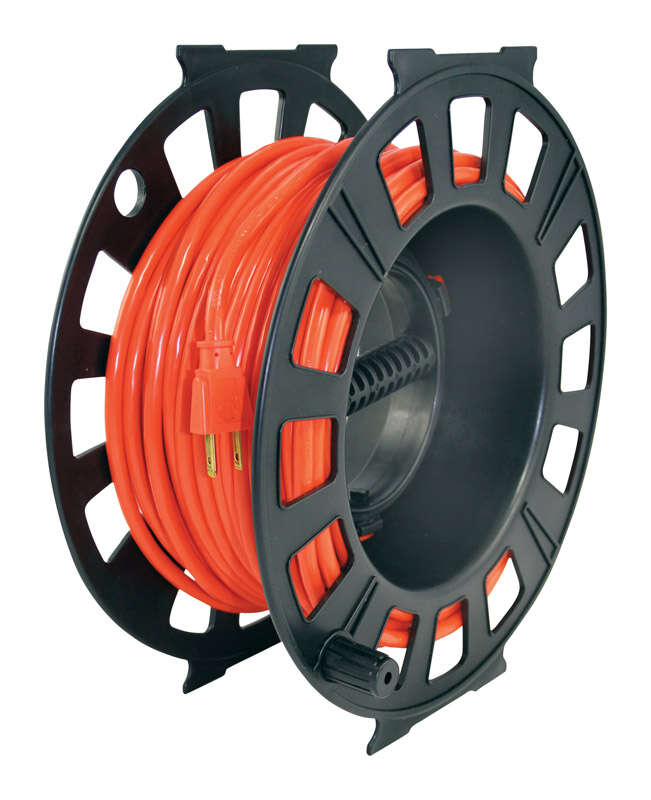 Woods  150 ft. L Plastic  Cord Reel
