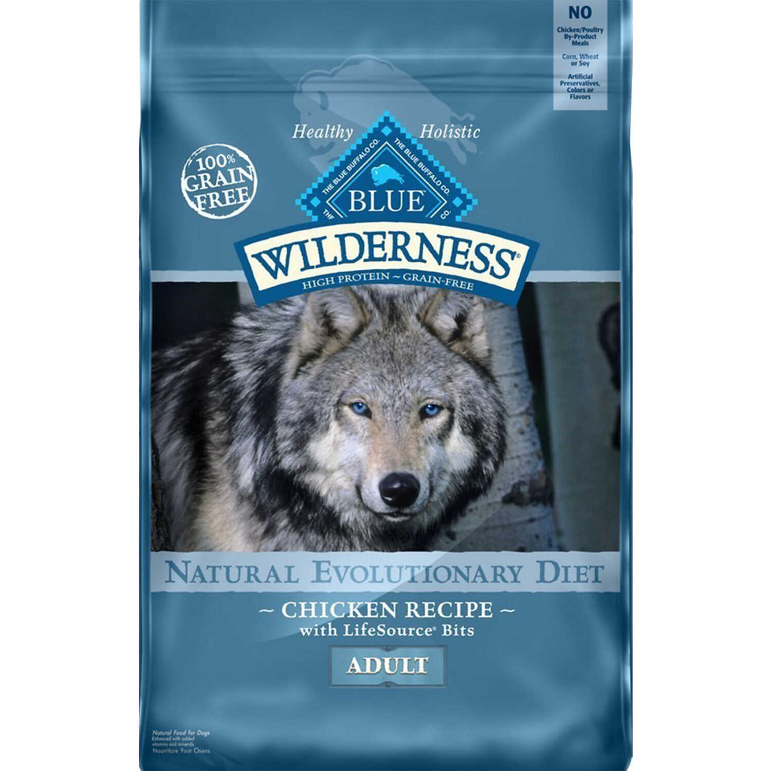 Blue Buffalo  Blue Wilderness  Chicken  Dog  Food  Grain Free 24