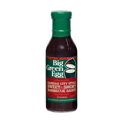 Big Green Egg  Kansas City Style Sweet & Smoky  BBQ Sauce  12 oz.